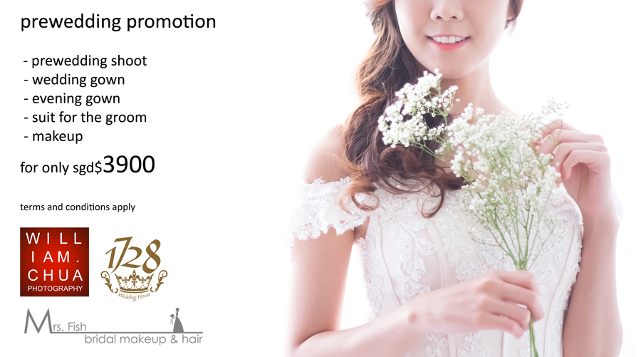 William Chua Photography 1728 Wedding House Prewedding Promotion